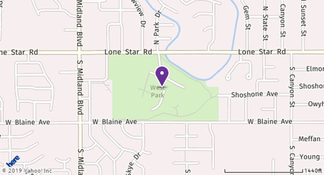 Map of West Park, Nampa